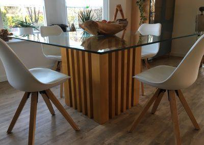 Tisch-ahorn-glas